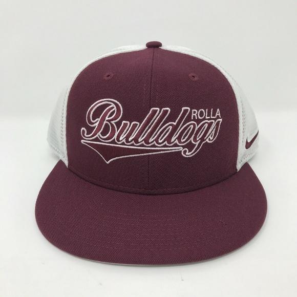 Nike Other - Rolla Bulldogs Nike Snapback Hat New Mesh Trucker